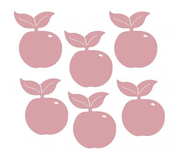 Dessous de verre Pomme